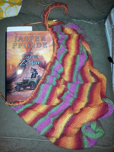 Mid-May Yarn-Along