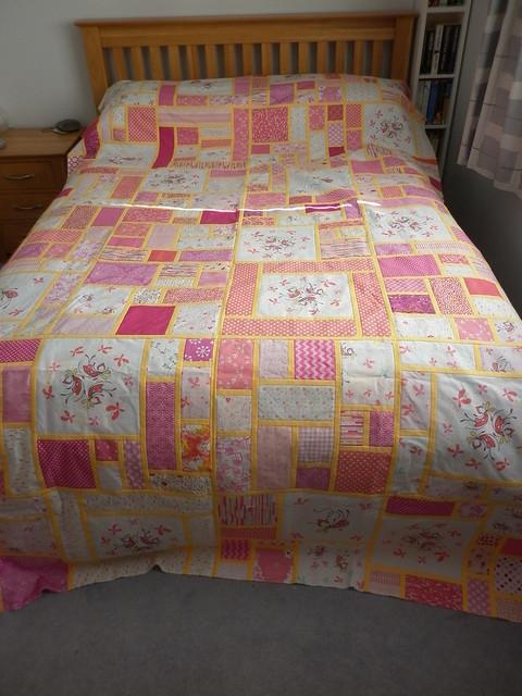 Fairy quilt top
