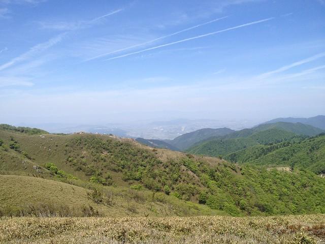 雨乞岳 武平峠ルート 東雨乞岳より杉峠への稜線