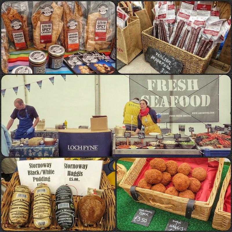 Montage of the Loch Fyne Food Fair