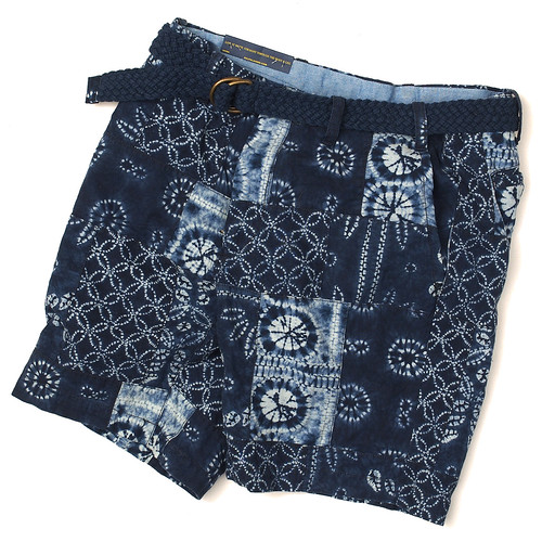 Ralph Lauren / Straight-Fit Patchwork Short