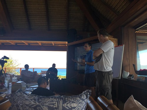 Blockchain summit at Necker Island