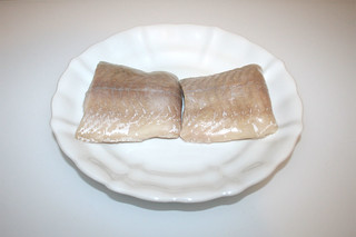 08 - Zutat Seelachsfilet / Ingredient coalfish filet