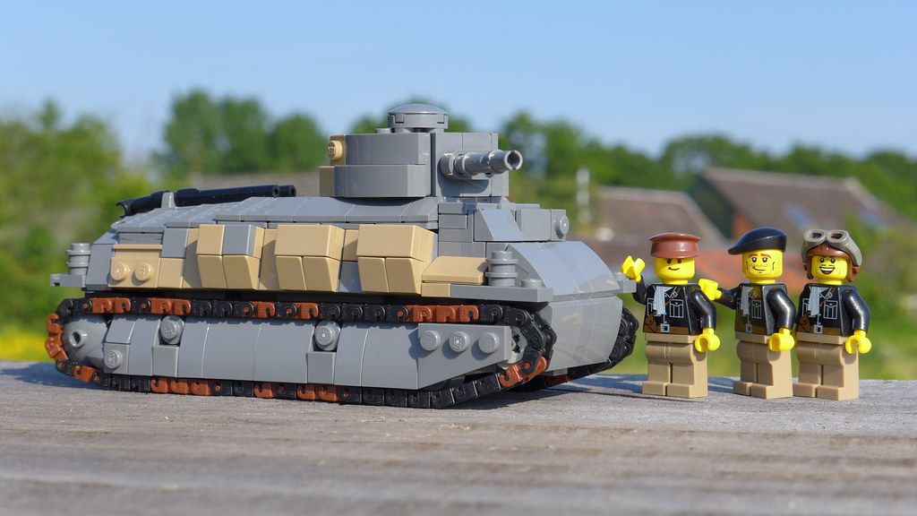 SOMUA S35 Here Is My Newest Tank For French Army The