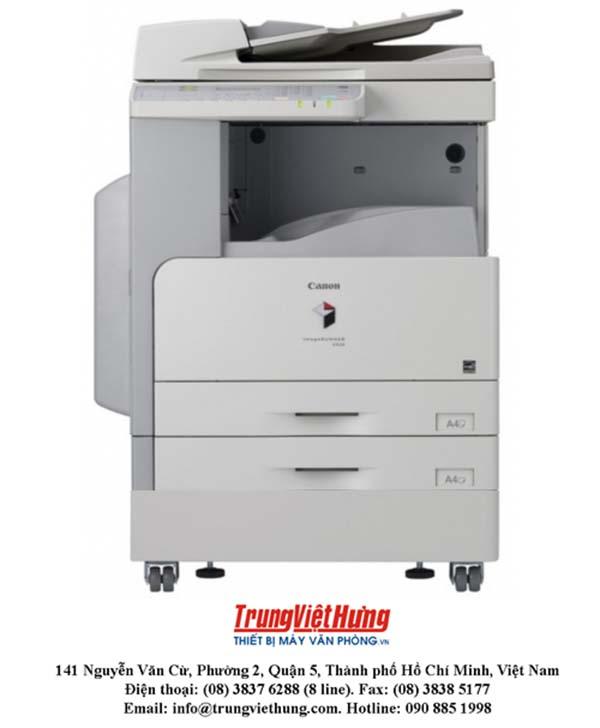 Các trục trặc thường mắc phải trong thời gian sử dụng máy photocopy Canon iR 2002n