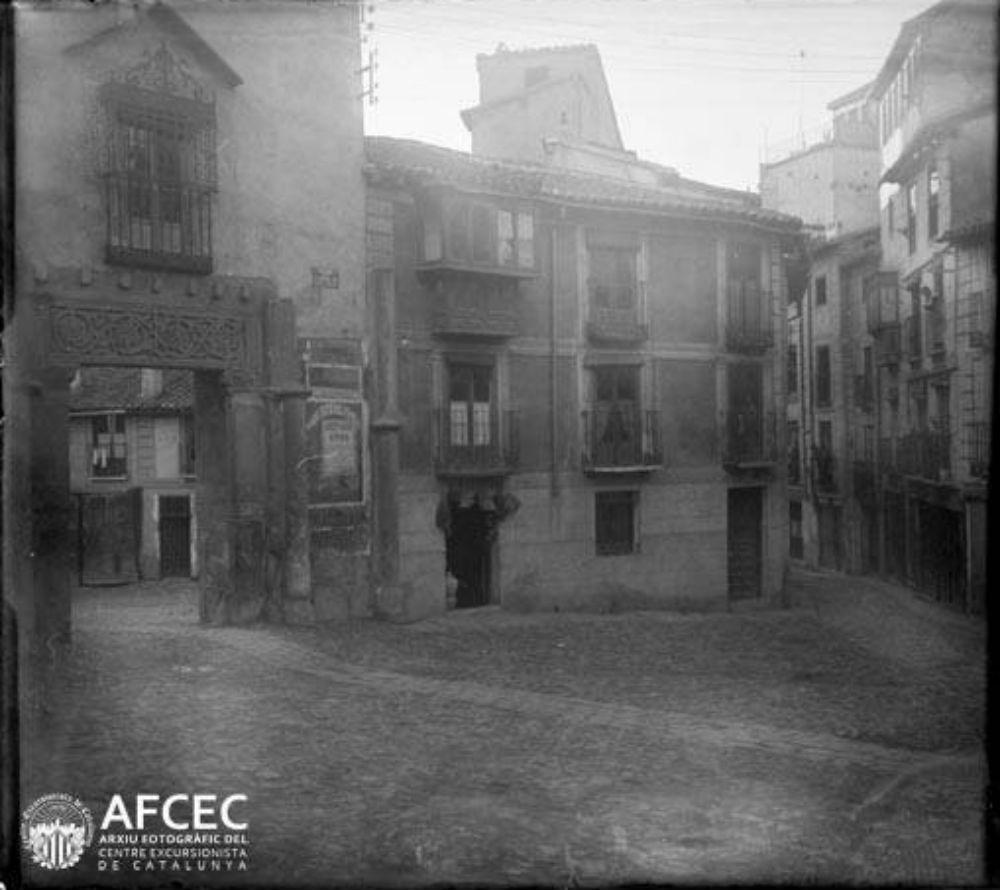 Corral de Don Diego en 1929. Fotografía de Óscar Torras i Buxeda © Centre Excursionista de Catalunya