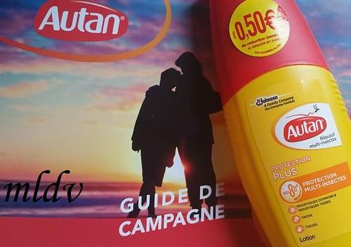 La lotion Protection plus autan