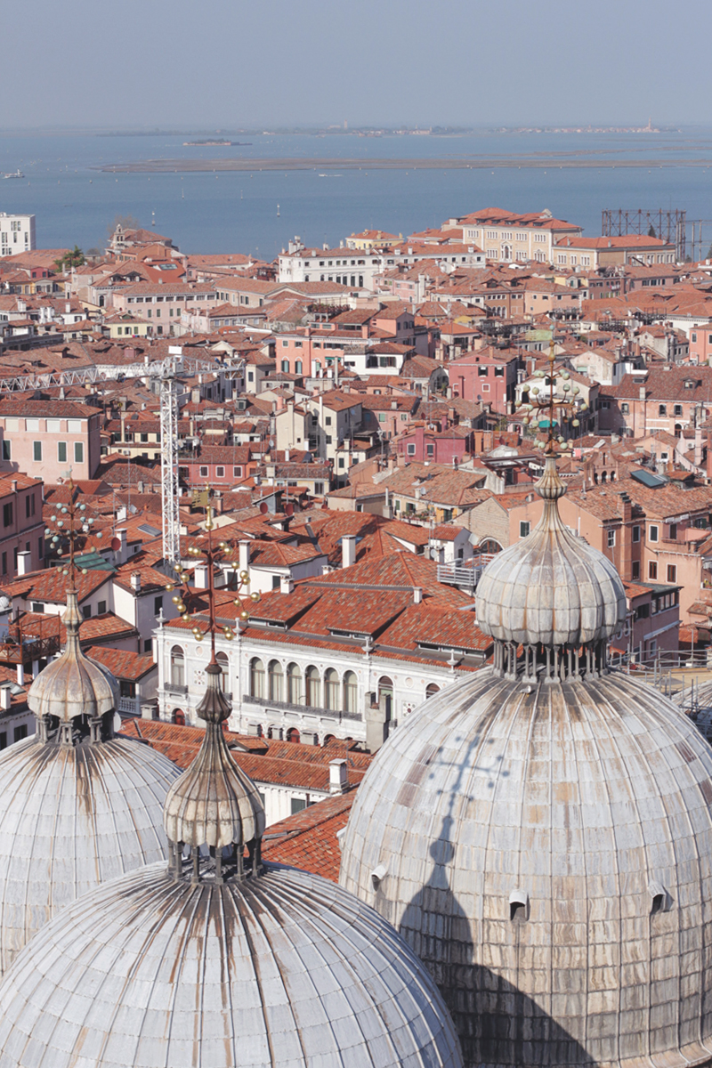View from the Top of the Bell Tower Venice, Bumpkin Betty