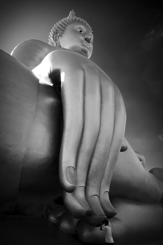 Towering Buddha
