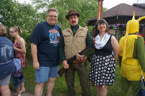 Tracey and Scott with Dum Dum Dugan