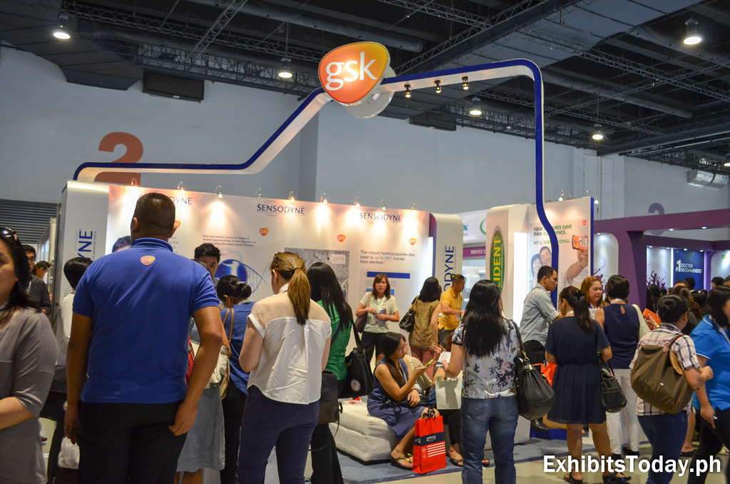 GSK Exhibit Booth