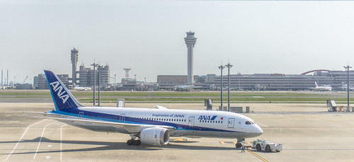 All Nippon Airways (ANA) - Haneda Airport | by IQRemix