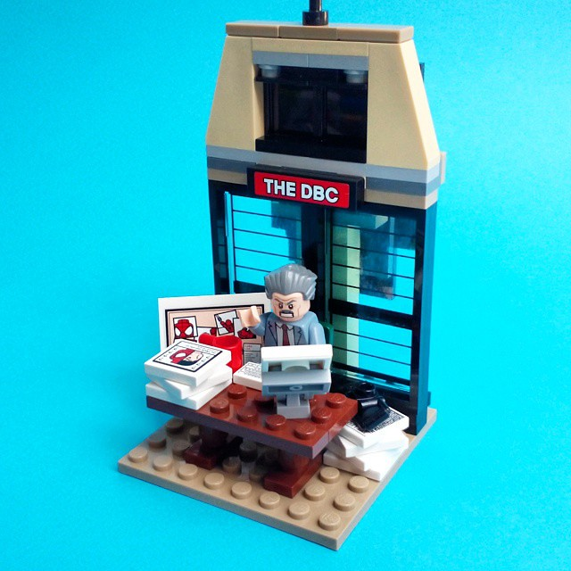 J Jonah Jamesons Office - 8x8 Vignette