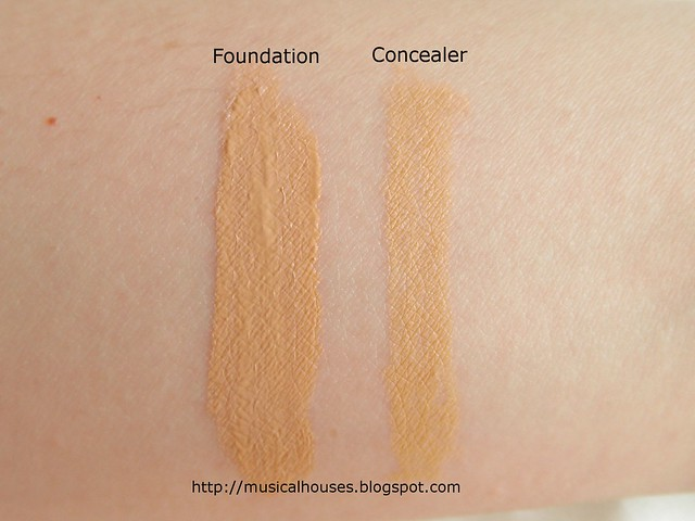 BonjourHK Yu Mei Flawless Double Action Foundation Concealer Pen Swatch