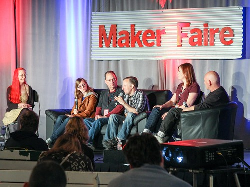 10 years of Maker Faire Panel