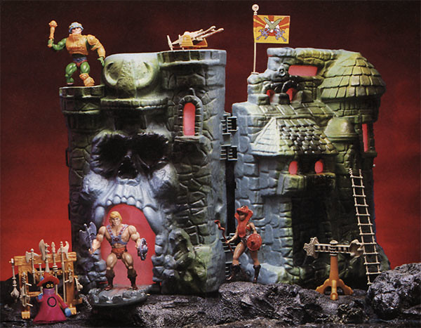 He-Man and the Masters of the Universe Castle Grayskull