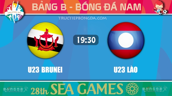 U23 Brunei vs U23 Lào