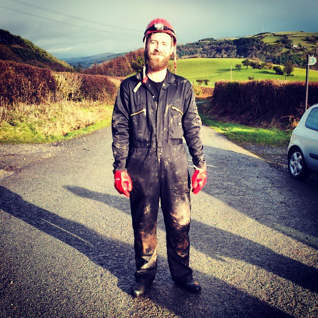 Notice hat and gloves match. #StyleIcon #bat #hibernation survey #NorthWales