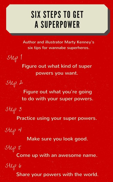 Author, illustrator teaches kids rules for wannabe superheroes ...