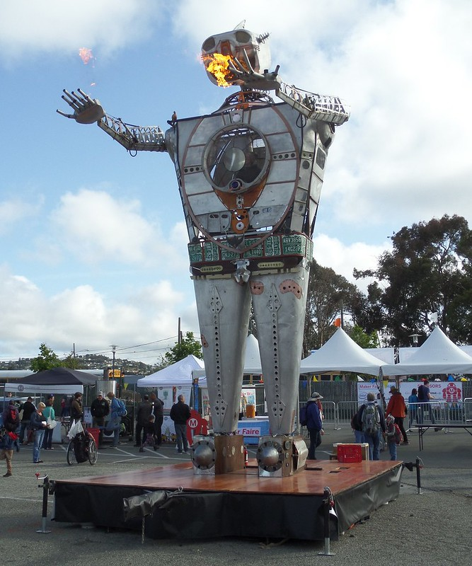 Giant Metal Man
