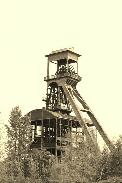 Mine Shaft Tower in Connecterra