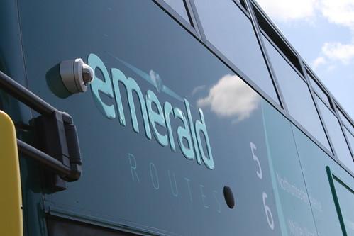 Emerald Routes 5/6 Branding