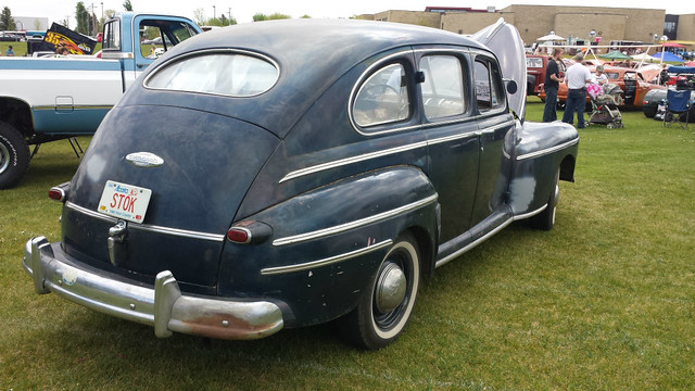 1948 Monarch rear