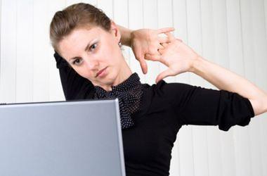 Як сидіти закомп'ютером, щоб не боліла спина