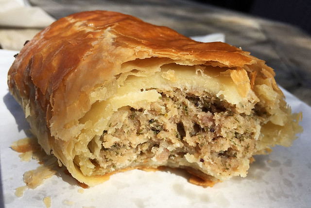 Sausage roll: Delicia