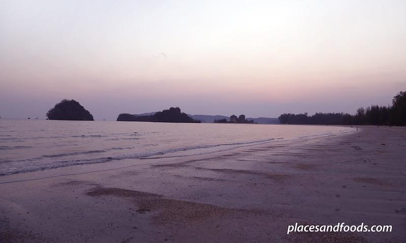 Hat Noppharat-Thara Krabi beach sunset