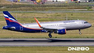 Aeroflot A320-214 msn 7215