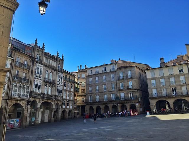 Plaza Mayor de Ourense (Galicia)