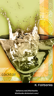 Cocktail Citrus - drawing by K. Fairbanks | by graphix9