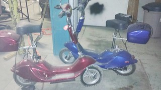 2 Mopeds | by Thornhill Auction