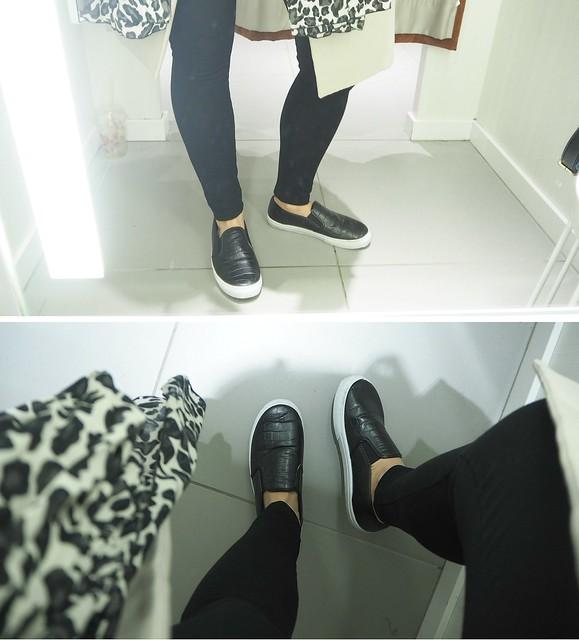 asuh&m1, asu, ootd, canvas shoes, kanvaasi kengät, musta, black, alcott, rome, rooma, shopping, ostokset, huivi, leopardi, scarf, leopard,