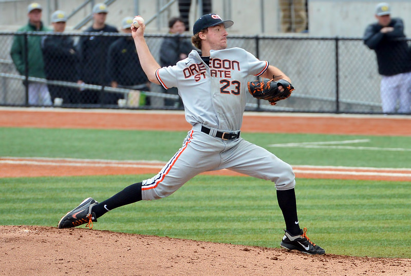Andrew Moore of the Oregon State Beavers