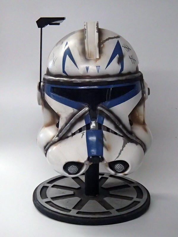 Captain Rex Helmet Finished 3