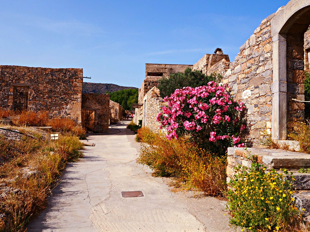 Spinalonga Island Crete Greece 6
