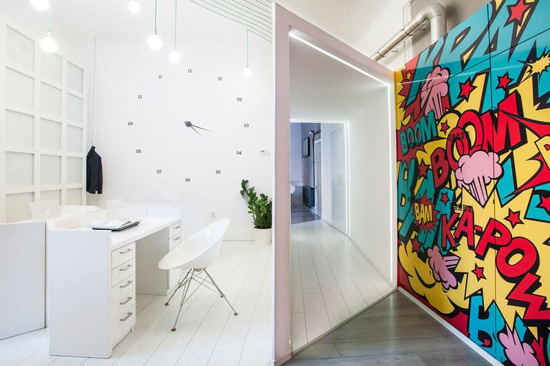 Estilo pop interiorismo para oficinas espacios vives - Escuela decoracion de interiores ...