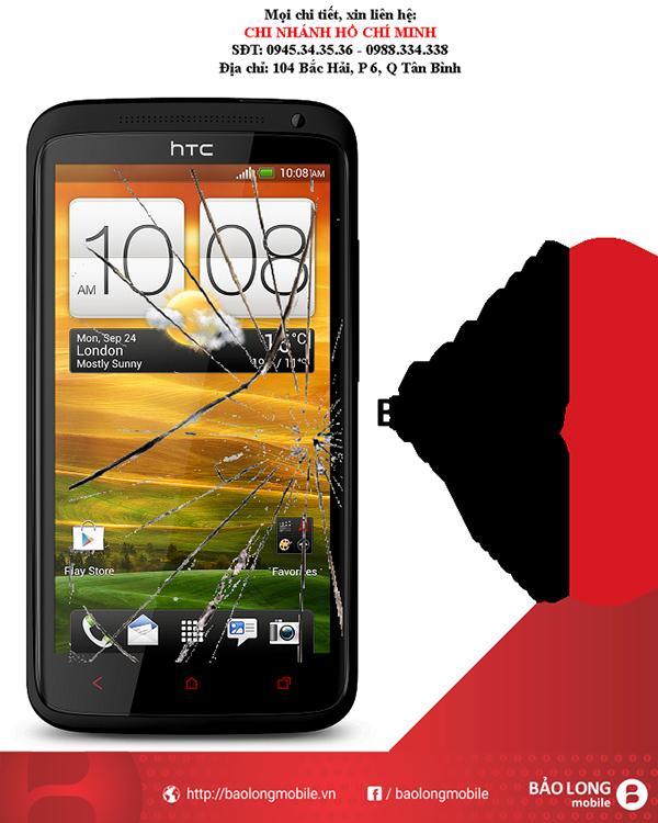 1 vài tư vấn tới người dùng khi bị hỏng màn hình điện thoại HTC One X