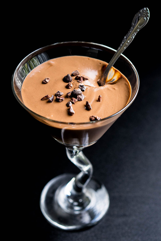 Healthy Mocha Mousse | cookingalamel.com