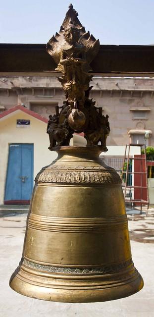 Bell - Mulghandha Kuti Vihara Temple - Sarnath, Uttar Pradesh