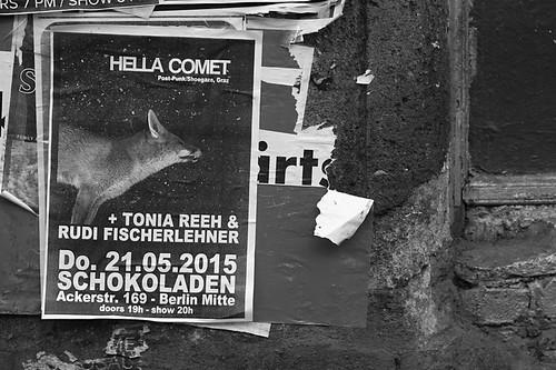 hella comet 21.05.2015 @ Schokoladen, Berlin