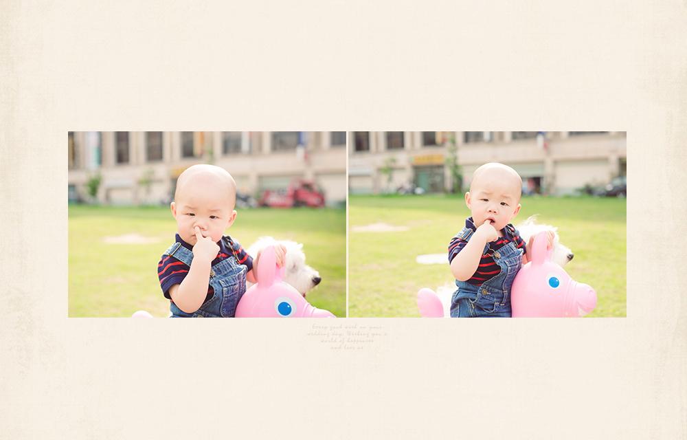 超自然可愛寶寶寫真攝影師