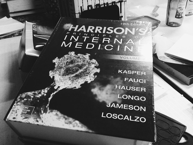 Excited by the new Harrison's edition, the way only books can excite me.