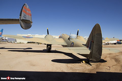 Z9592 - 10076 - Royal Air Force - Fairchild Bolingbroke IVT (Bristol 149 Blenheim IV) - Pima Air and Space Museum, Tucson, Arizona - 141226 - Steven Gray - IMG_8006