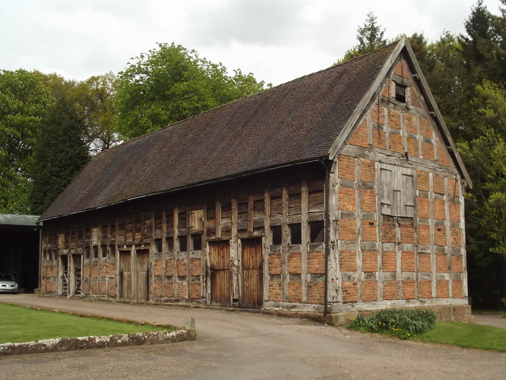 Tithe Barn Hodnet Hall Gardens A Visit On The May Day