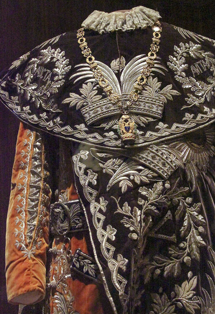 Mantle of the Austrian Imperial Order of the Iron Crown