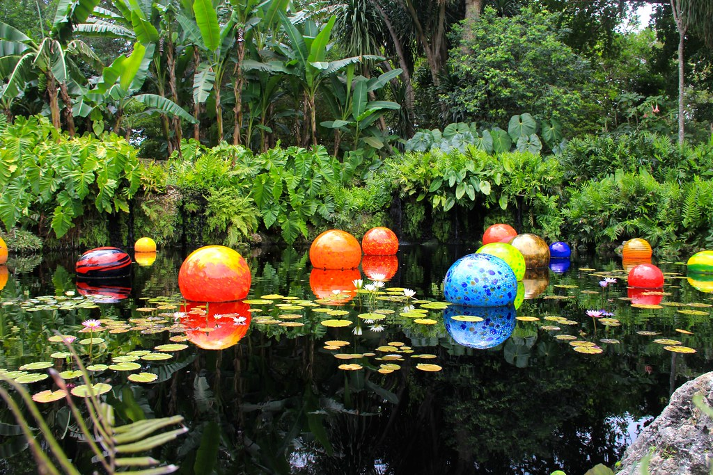 orbs by dale chihuly fairchild tropical botanic garden by danxoneil - Fairchild Tropical Botanic Garden