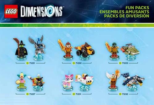 LEGO Dimensions packs